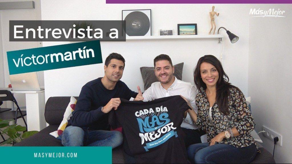 Entrevistamos a Victor Martín