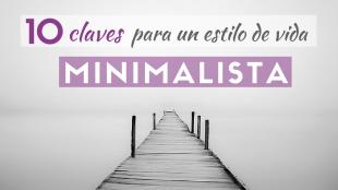 Minimalismo estilo de vida minimalista