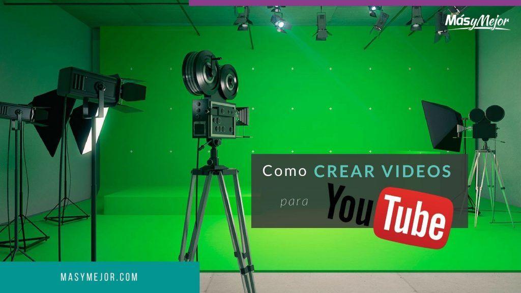 crear videos Youtube