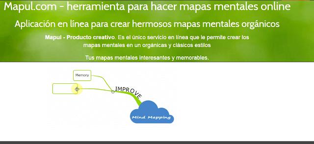 hacer mapas mentales con mapul