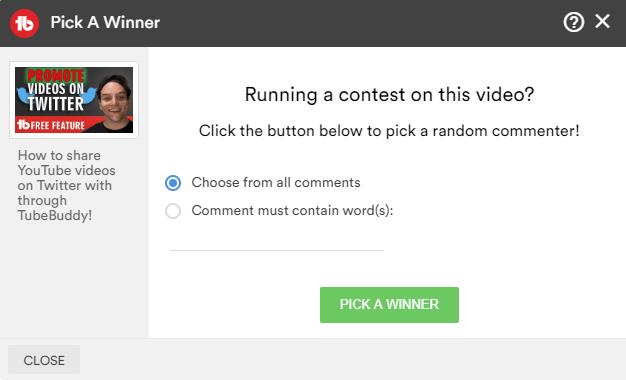 PICK-A-WINNER