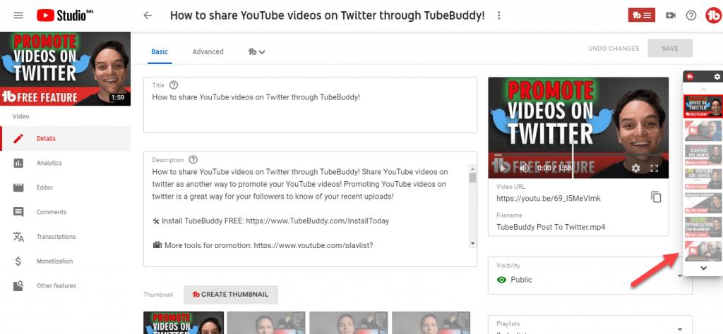 Tubebuddy-Quick-Edit-Toolbar